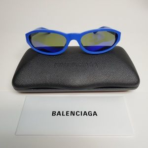 Balenciaga Everyday BB0007S-004 Mirror Sunglasses